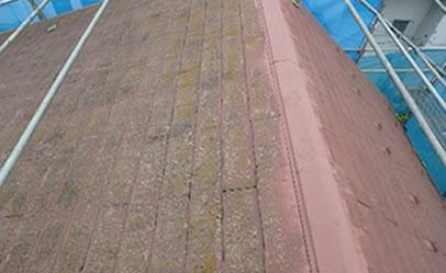劣化した屋根2