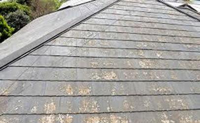 劣化した屋根3