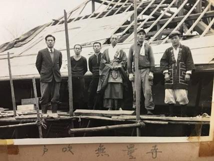 八雲神社の上棟の写真