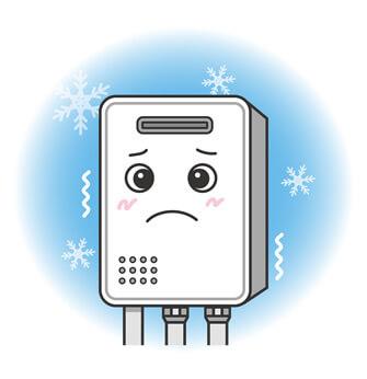 給湯器の冬の故障