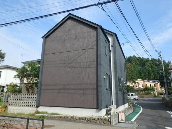 外壁の工事 施工後