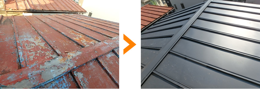 屋根のリフォーム