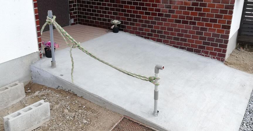 自作スロープ