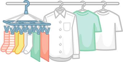 花粉の時期困る洗濯物