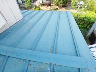 古くなった屋根の改修