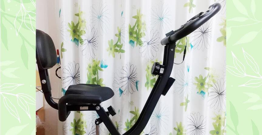 エアロバイクで運動不足解消